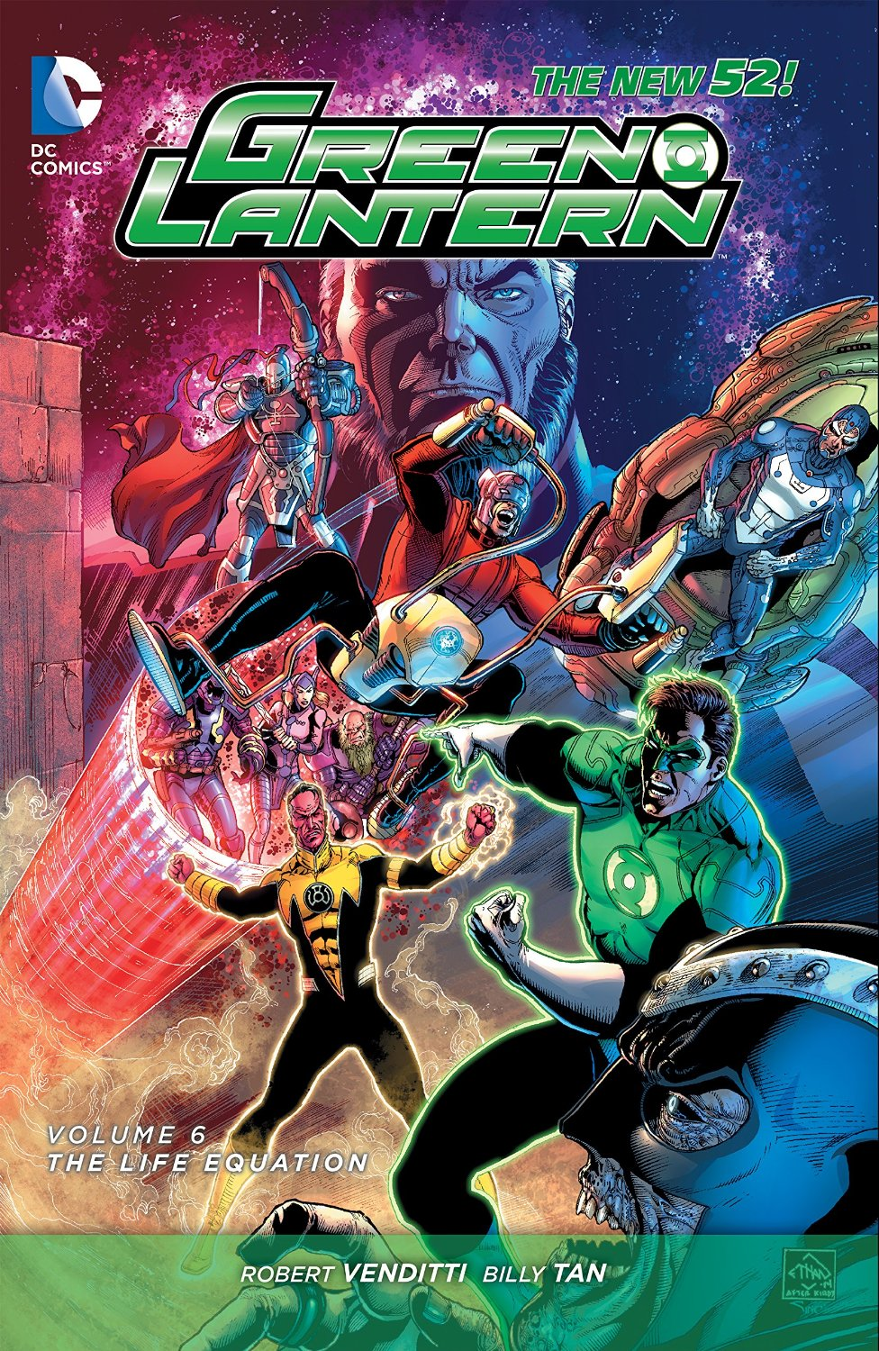 Green Lantern, Volume 6: The Life Equation book cover