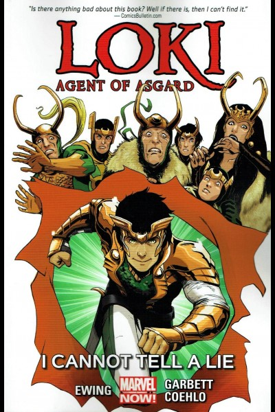 Loki: Agent of Asgard, Volume 2: I Cannot Tell a Lie book cover