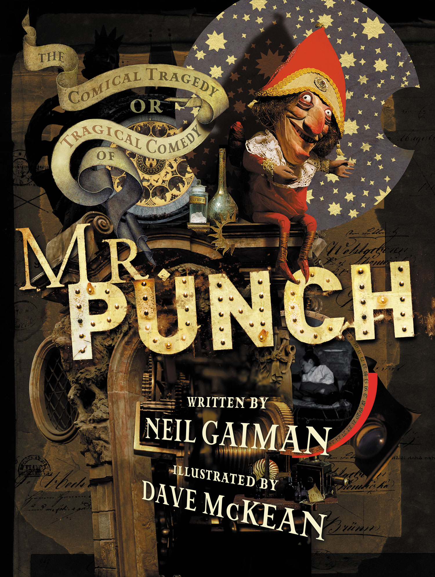 The Tragical Comedy or Comical Tragedy of Mr. Punch book cover