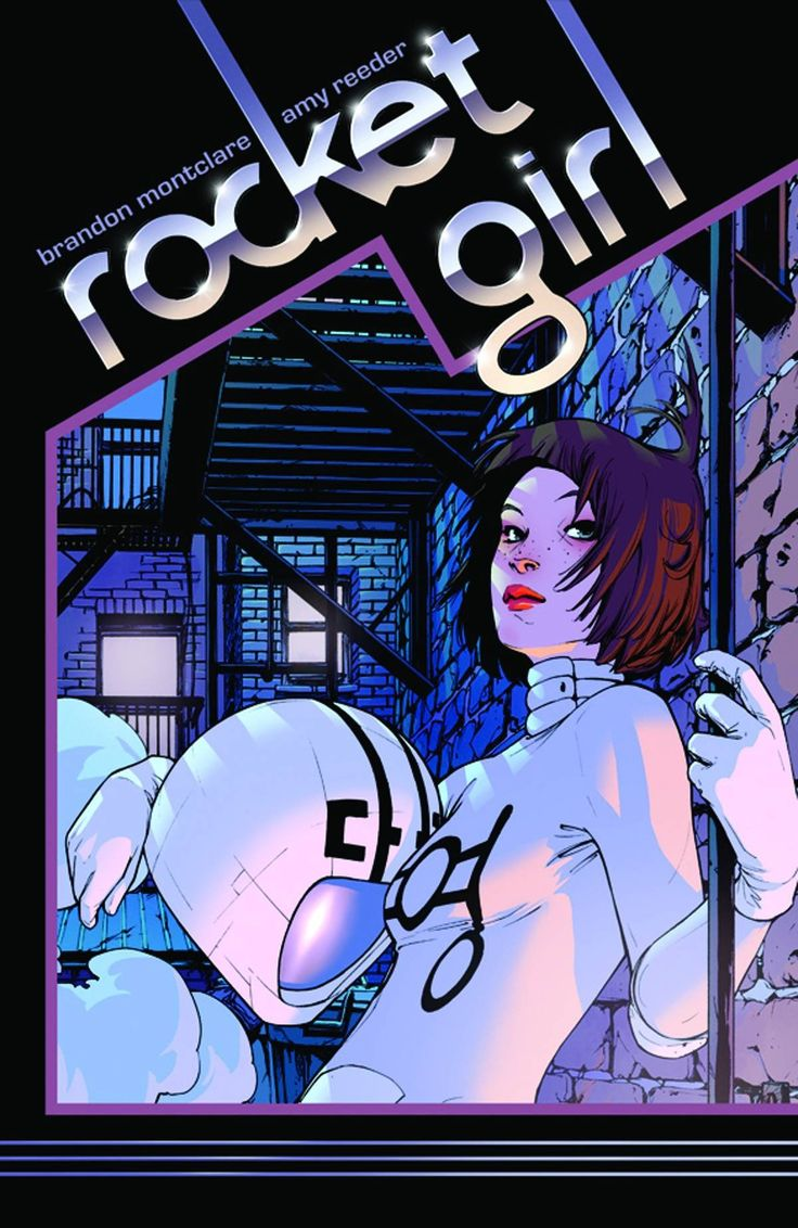 Rocket Girl, Volume 1: Times Squared book cover