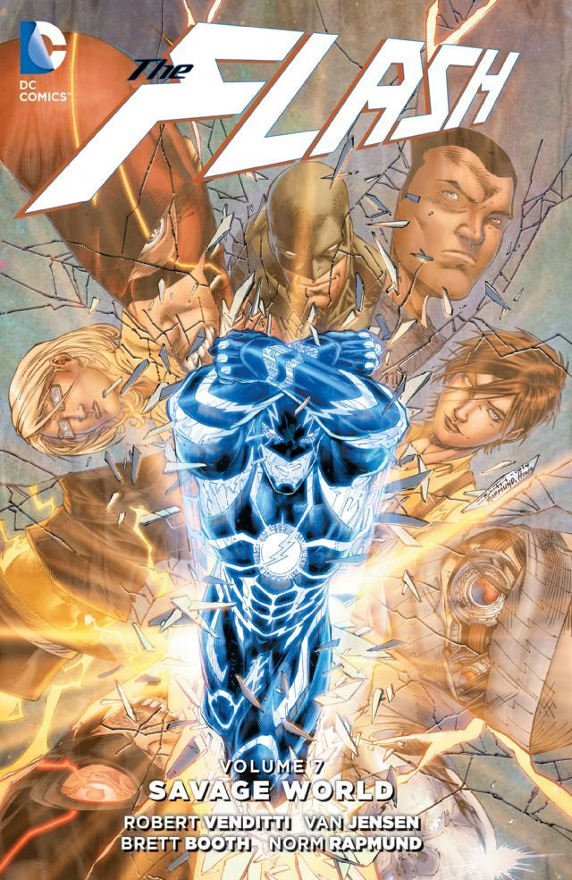 The Flash, Volume 7: Savage World book cover