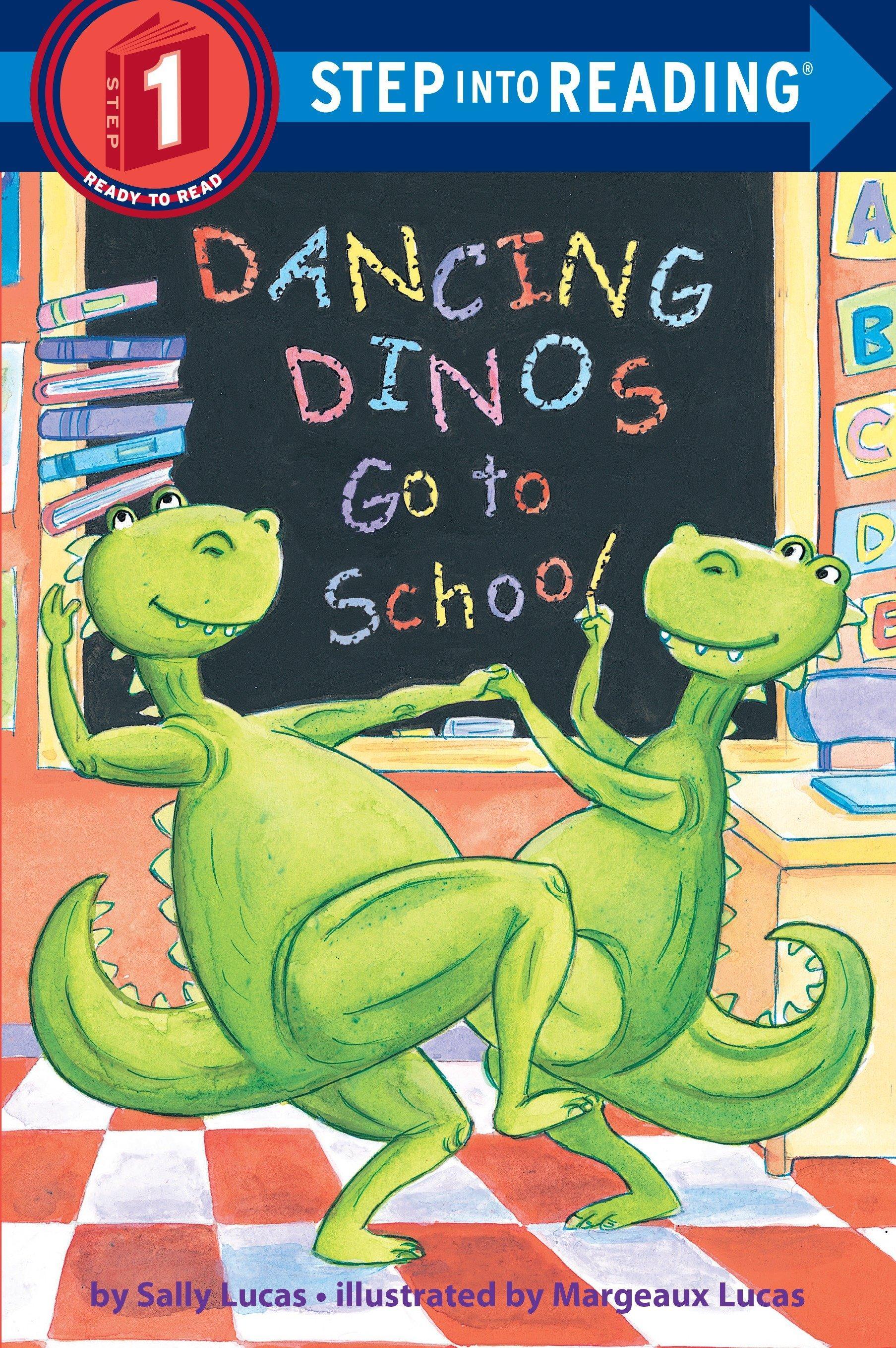 Dancing Dinos Go to School book cover