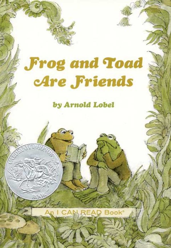 Frog & Toad Are Friends book cover
