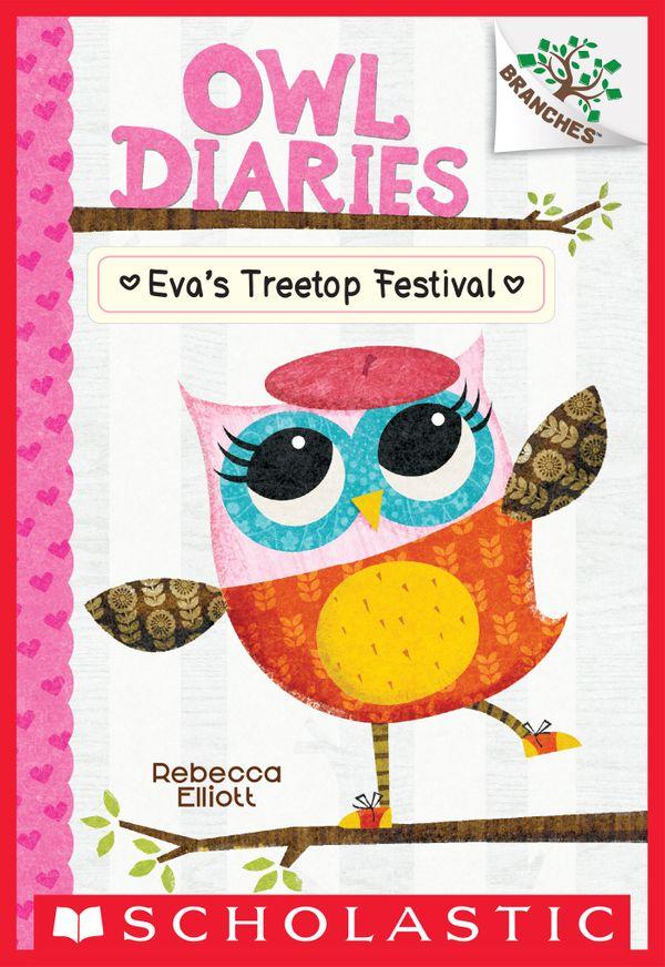 Owl Diaries: Eva's Treetop Festival book cover