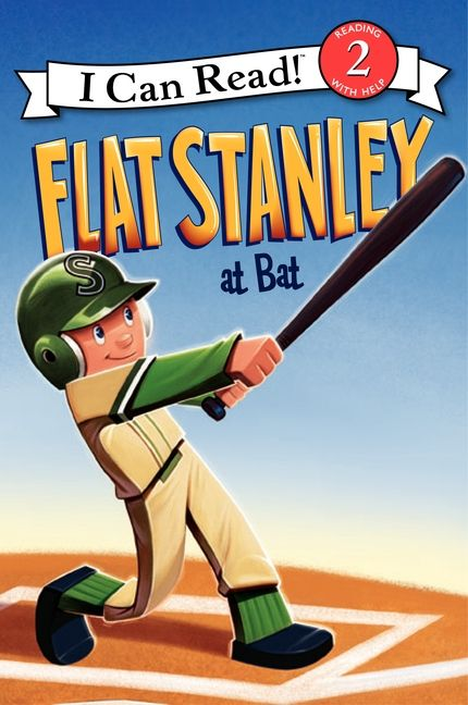 Flat Stanley at Bat book cover