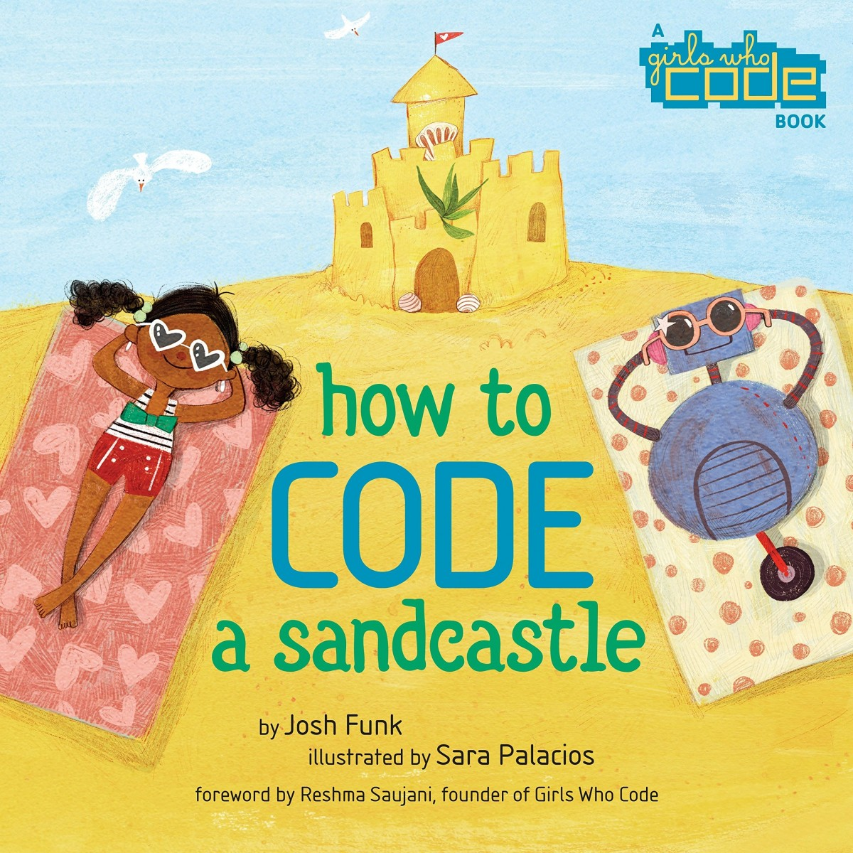 How to CODE a Sandcastle book cover