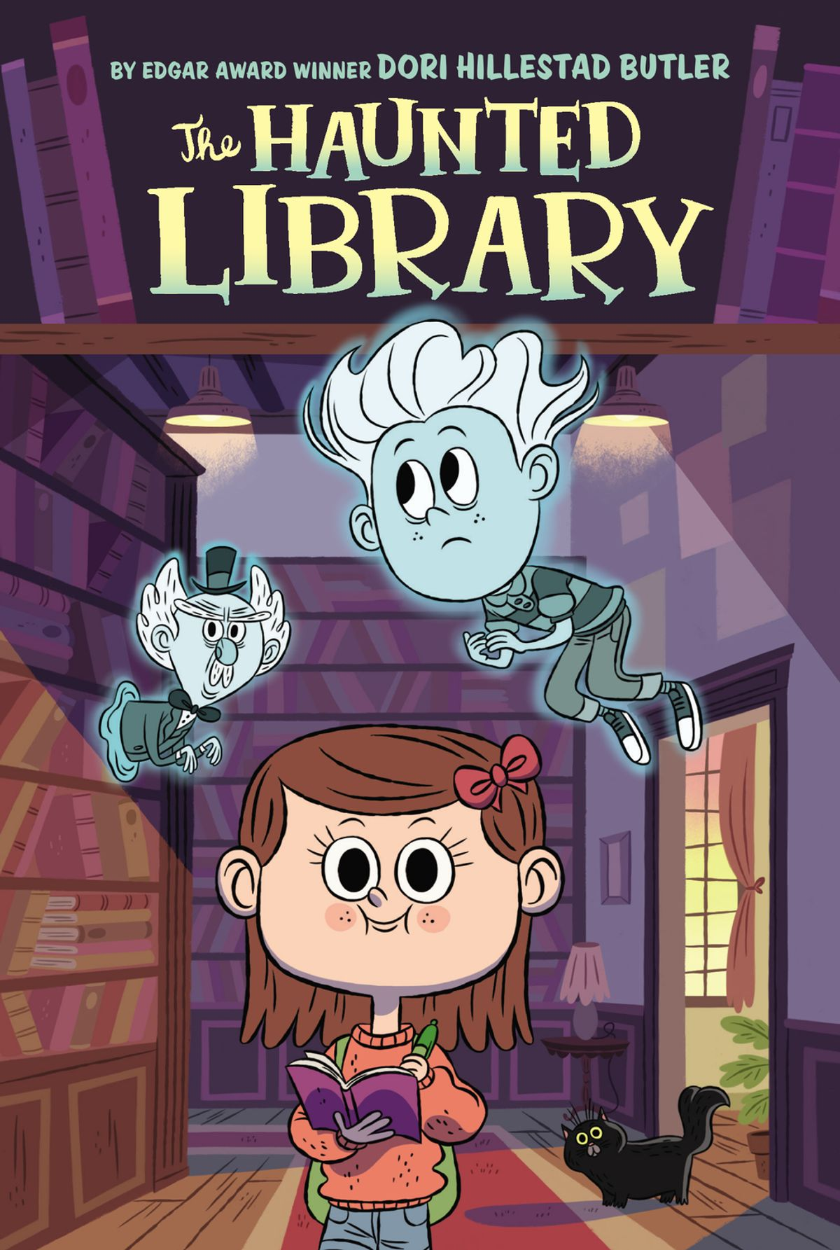 The Haunted Library book cover