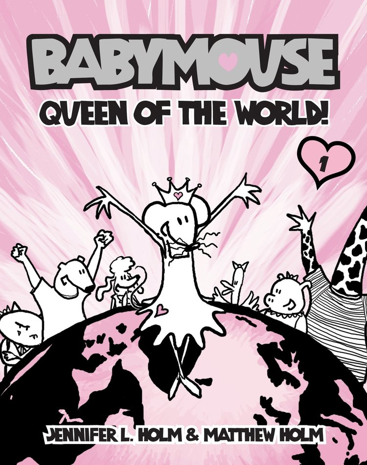 Babymouse: Queen of the World! book cover