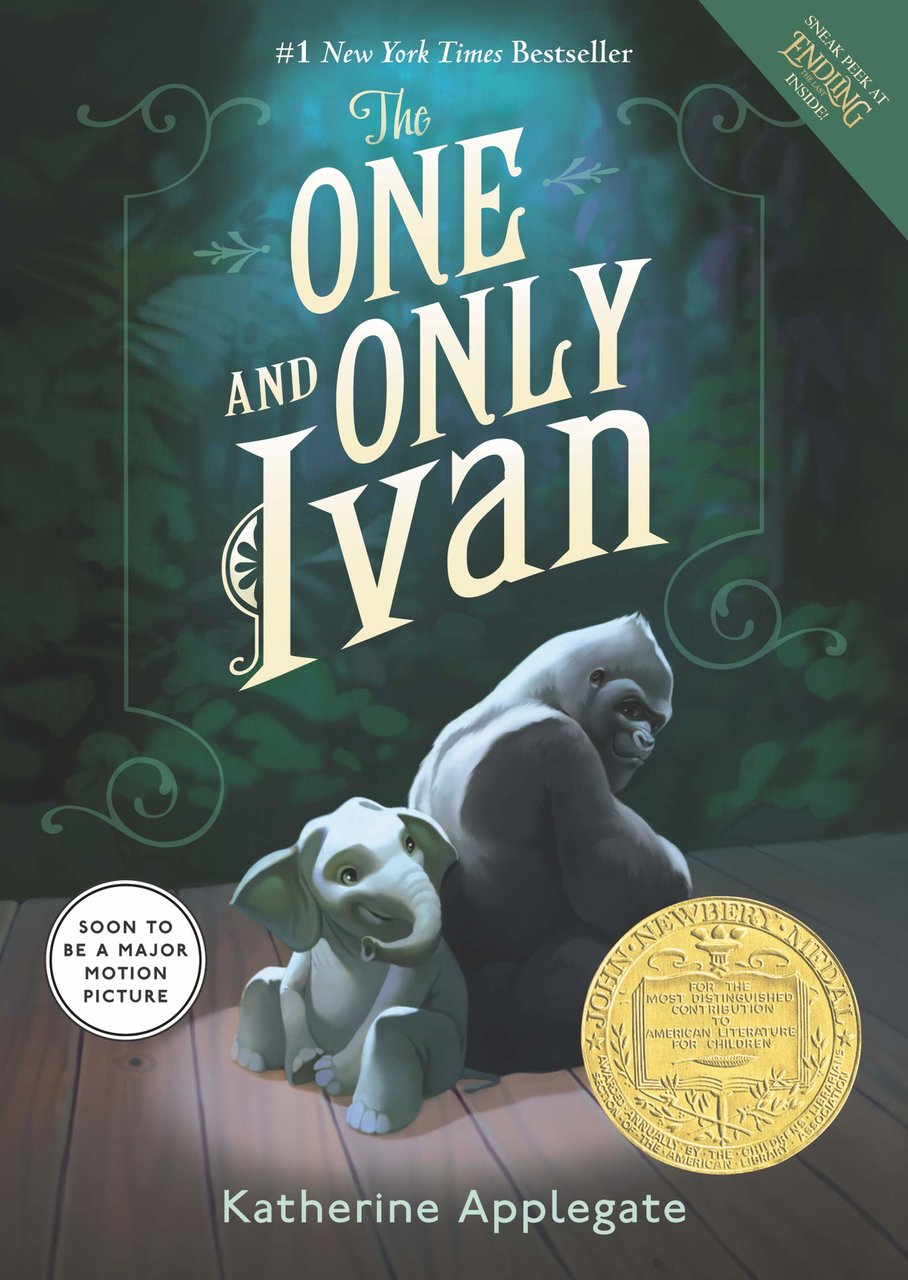 The One & Only Ivan book cover