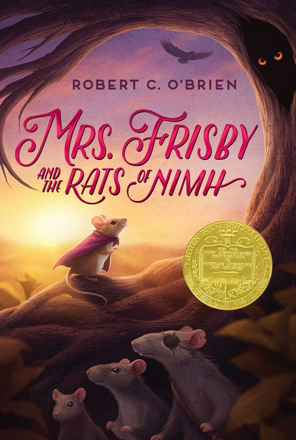 Mrs. Frisby & the Rats of NIMH book cover