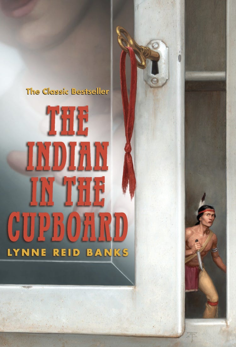 The Indian in the Cupboard book cover