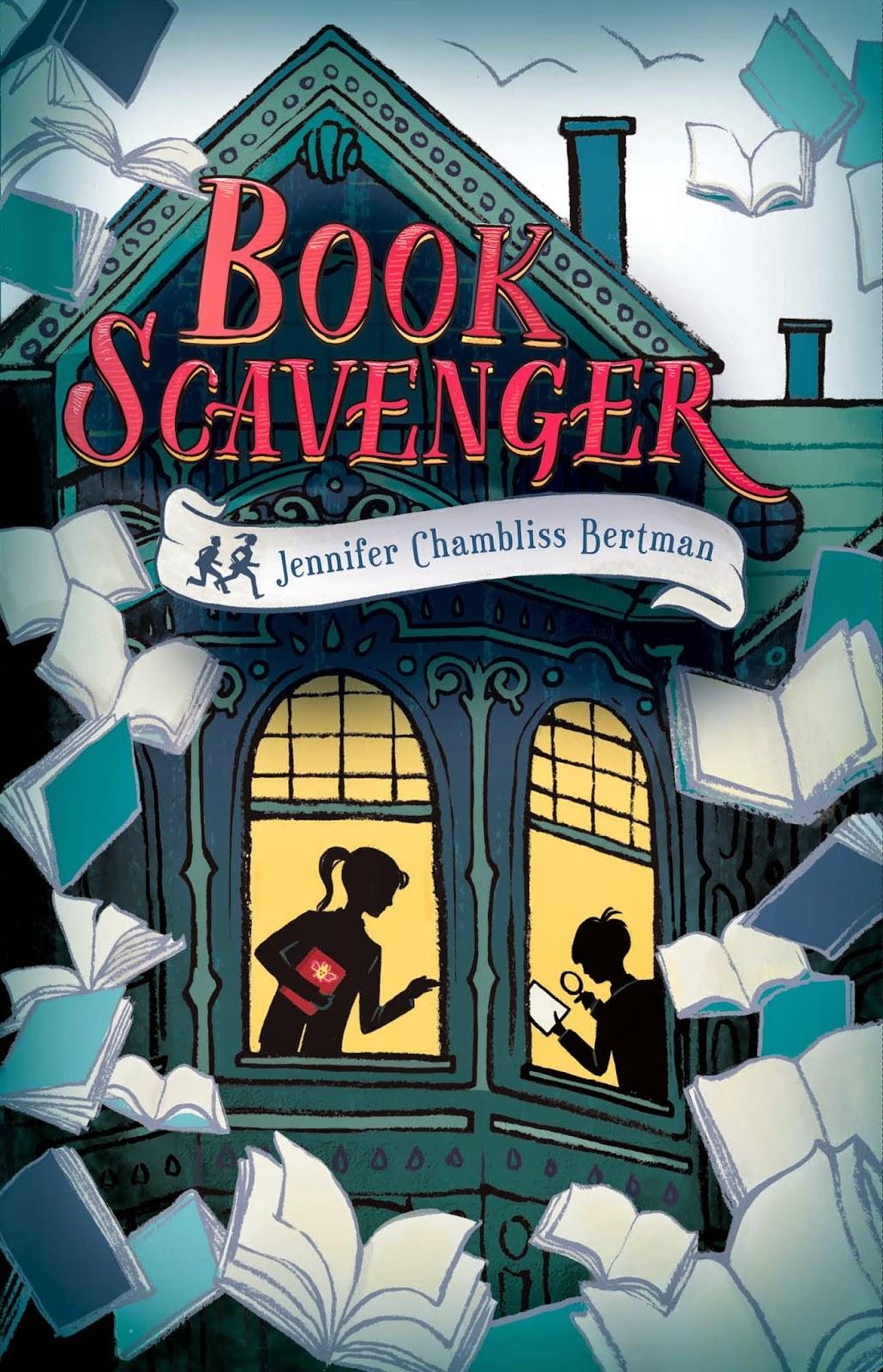 Book Scavenger book cover