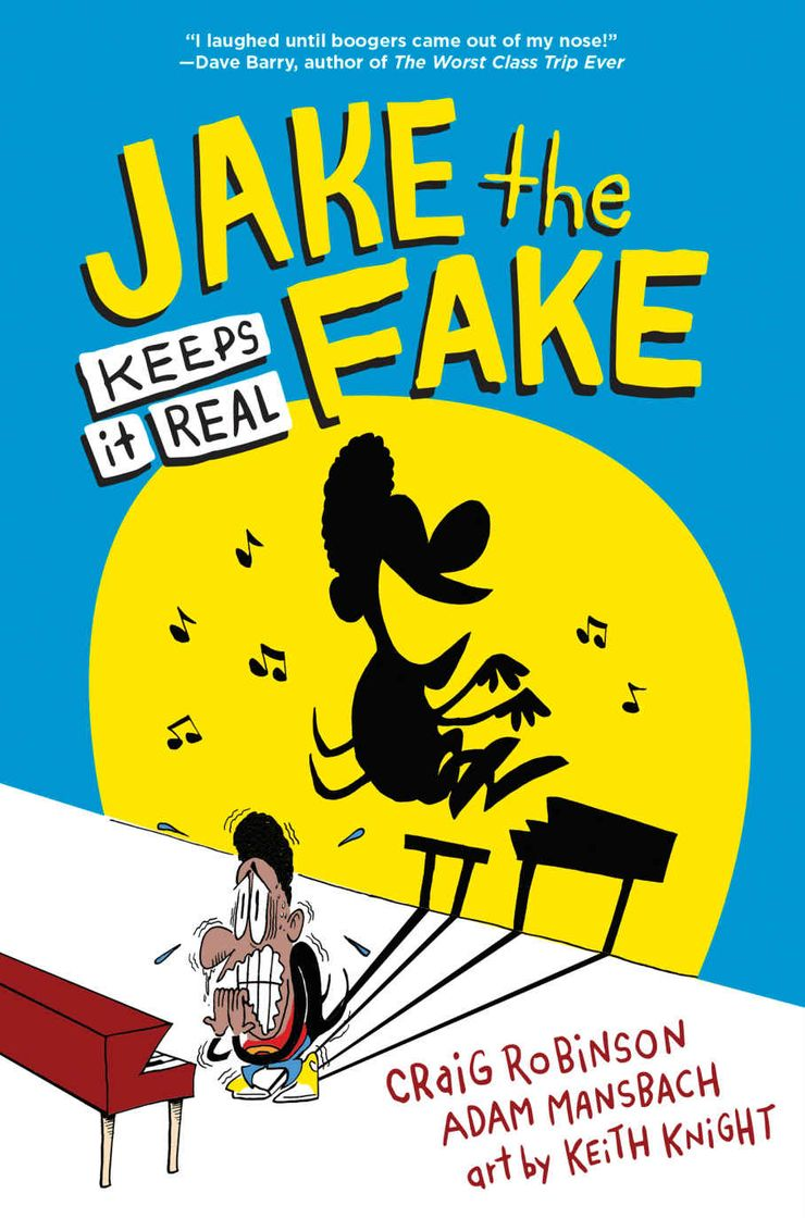 Jake the Fake Keeps it Real book cover