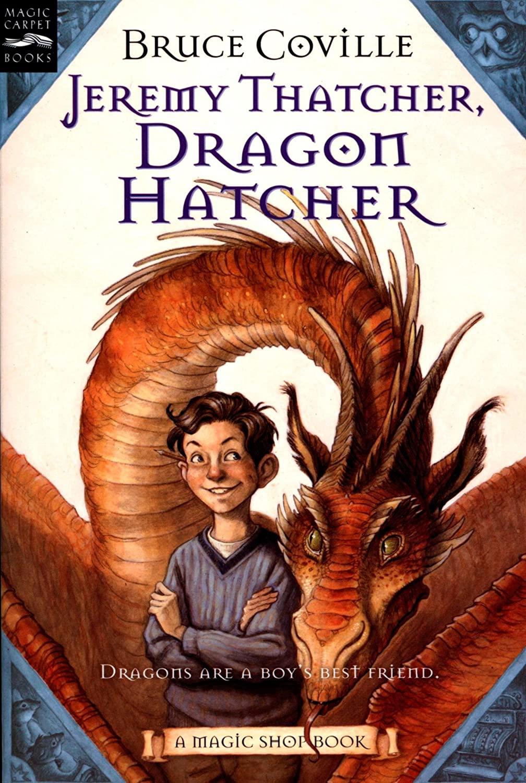 Jeremy Thatcher, Dragon Hatcher book cover