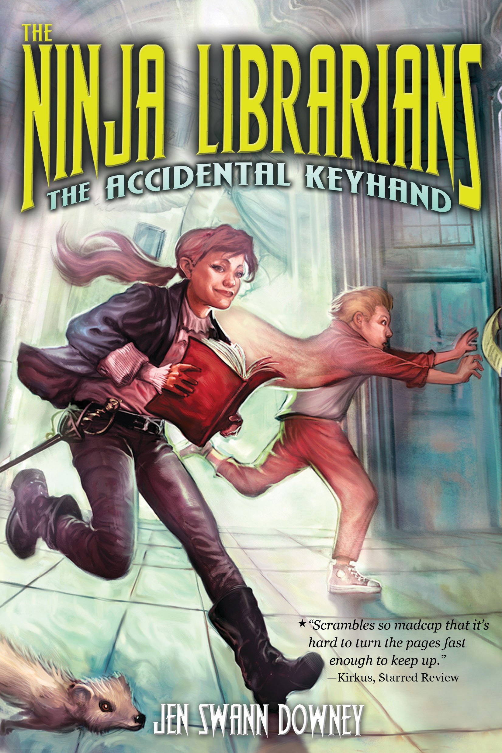 The Ninja Librarians book cover