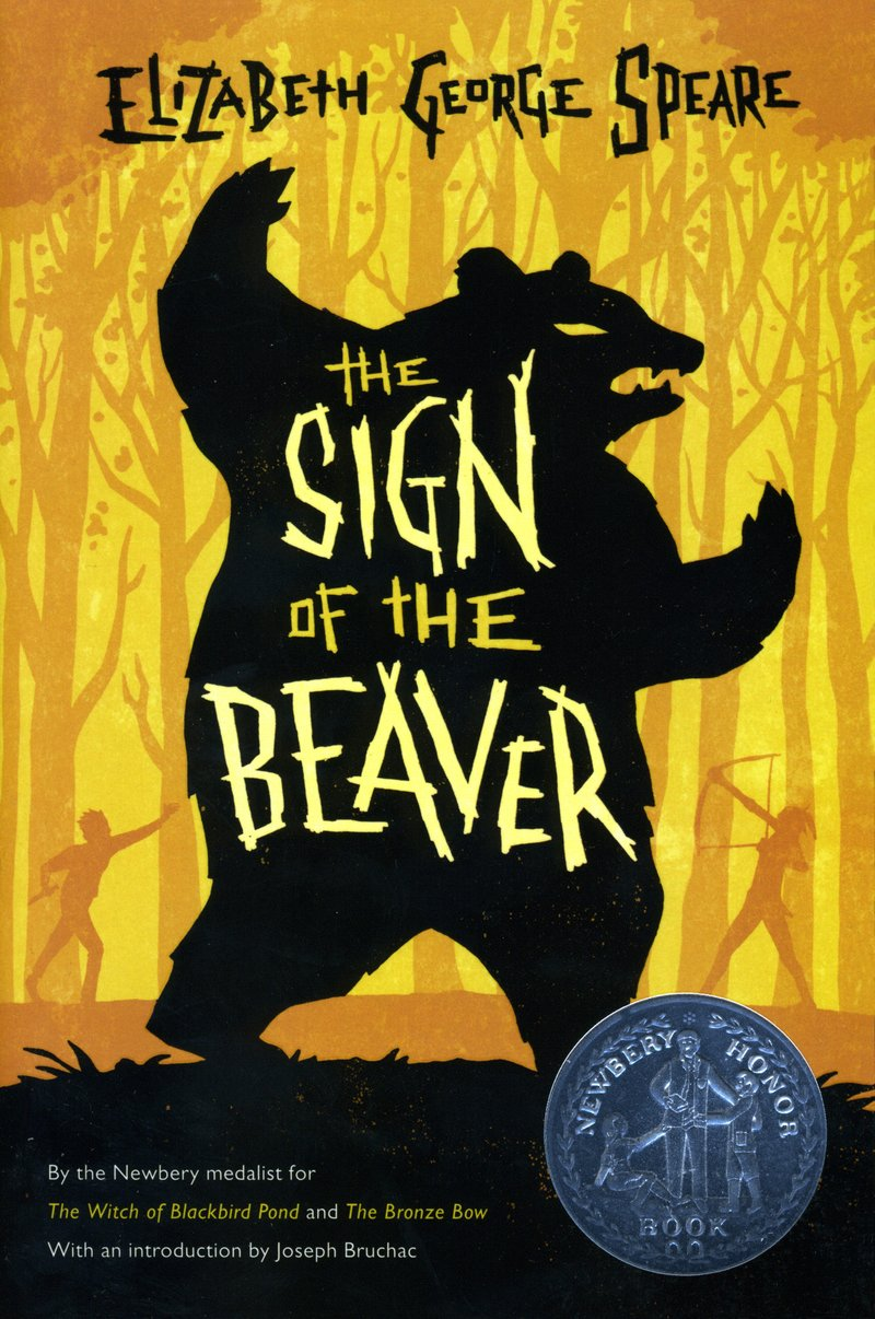 The Sign of the Beaver book cover