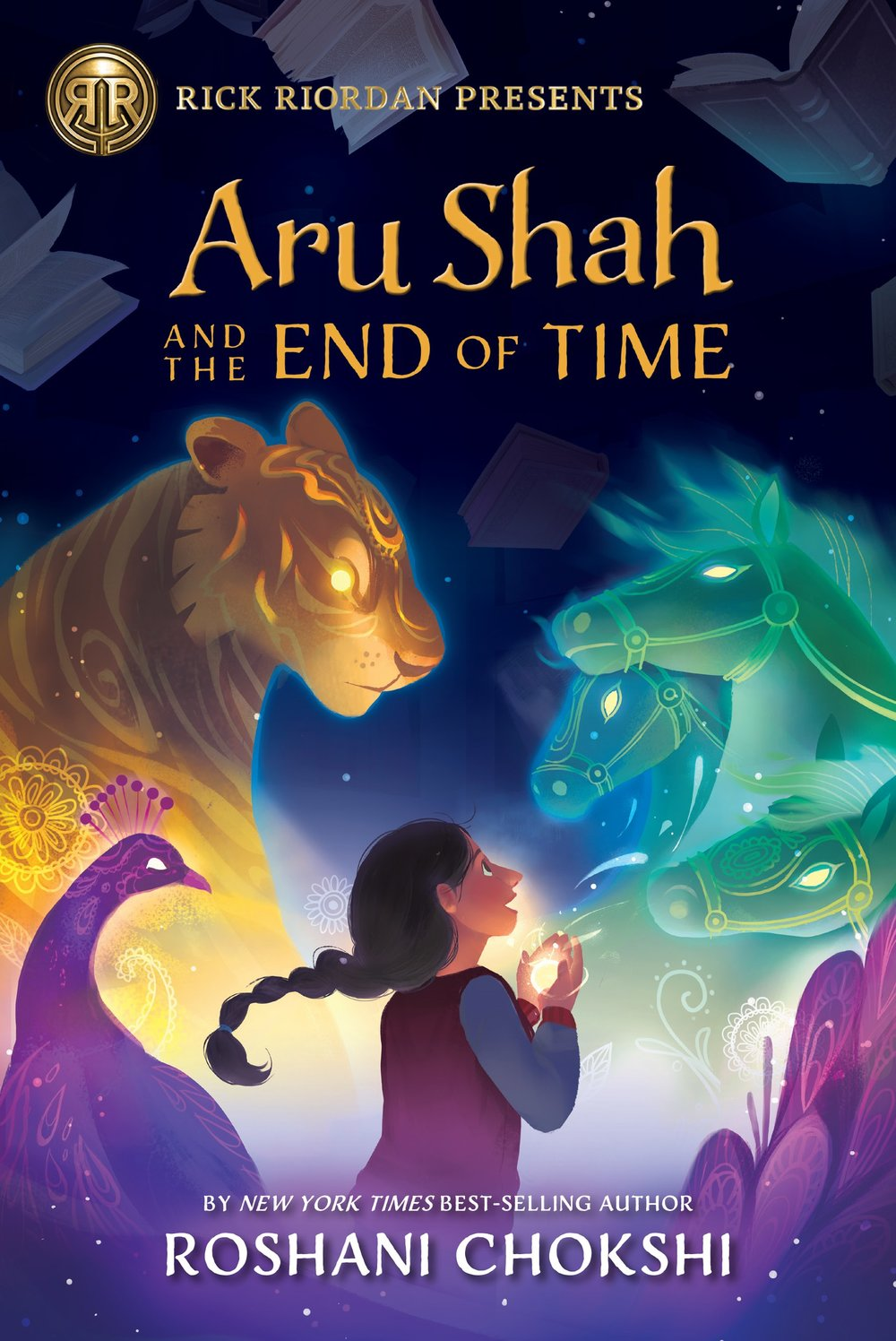 Aru Shah & the End of Time book cover