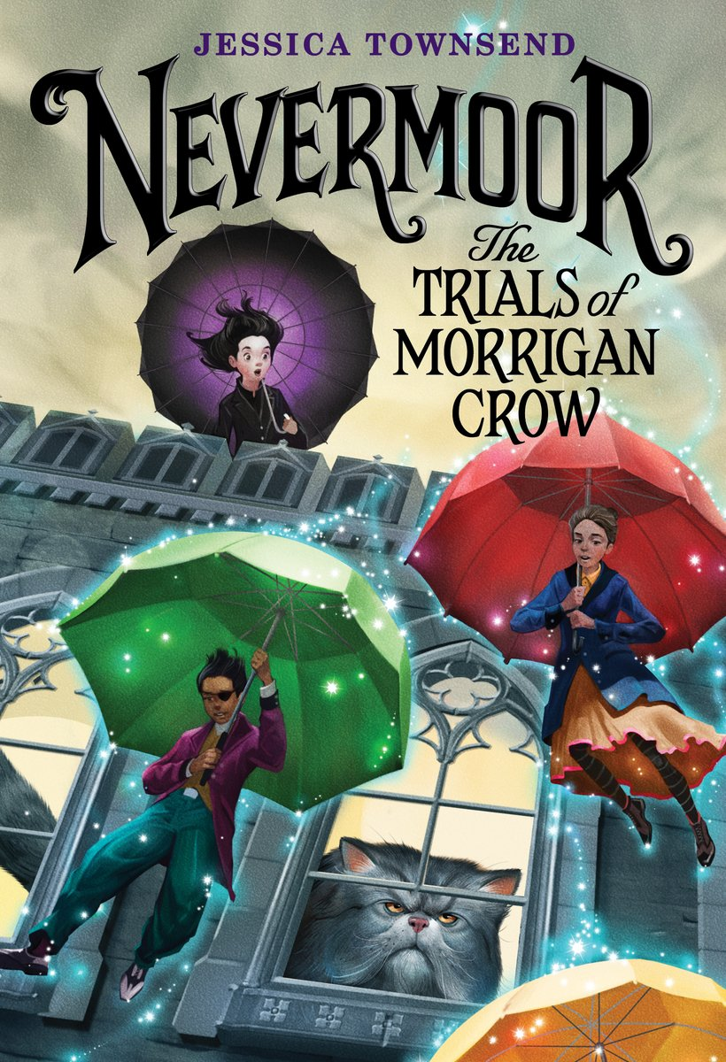 Nevermoor: The Trials of Morrigan Crow book cover