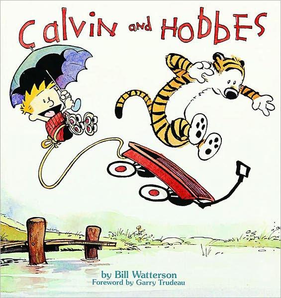 Calvin & Hobbes book cover