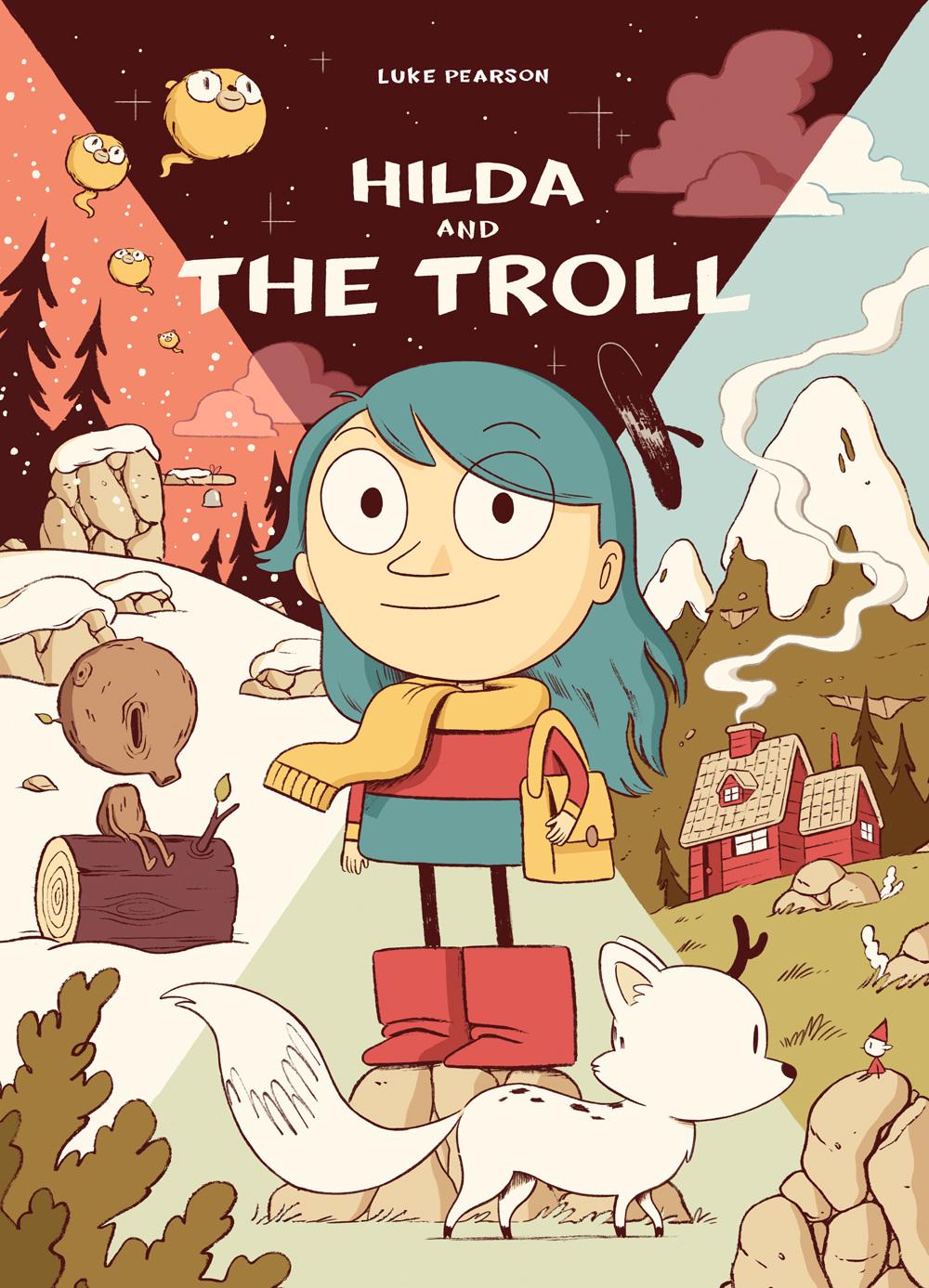 Hilda & the Troll book cover