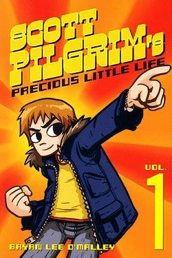 Scott Pilgrim book cover
