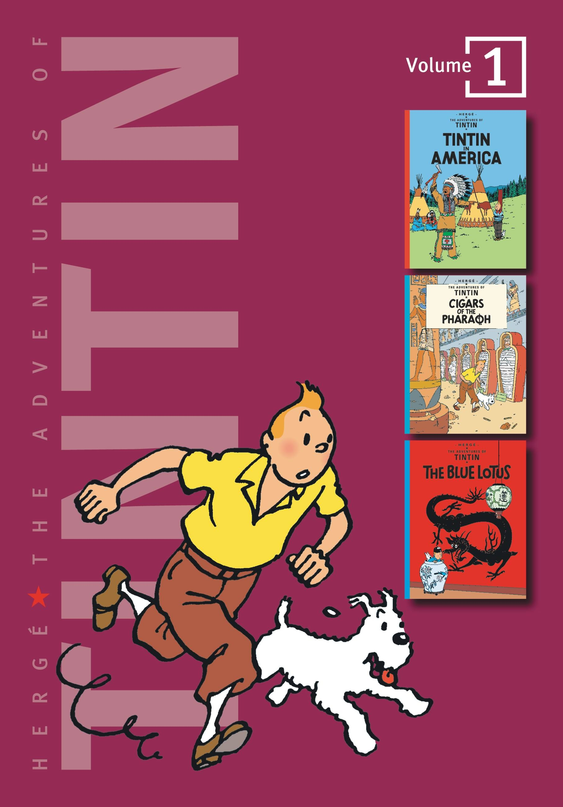 The Adventures of Tintin book cover